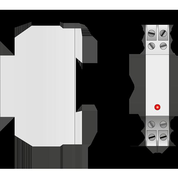 Габаритный чертеж DS98L-400
