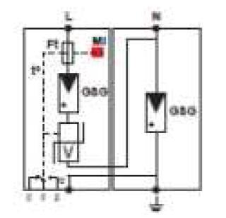 Схема подключения DS132VGS-230/G