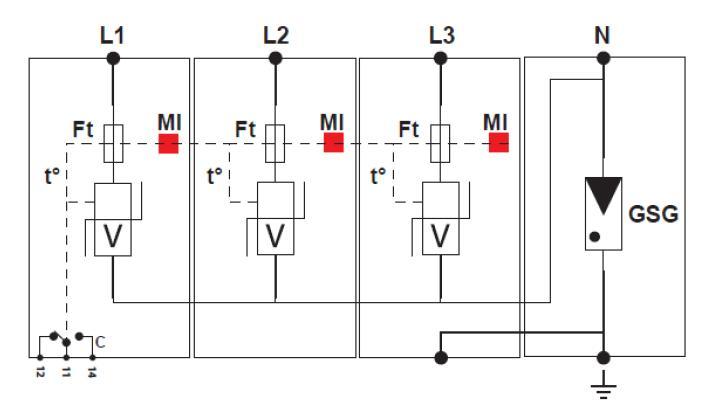 Схема подключения DS44S-230/G