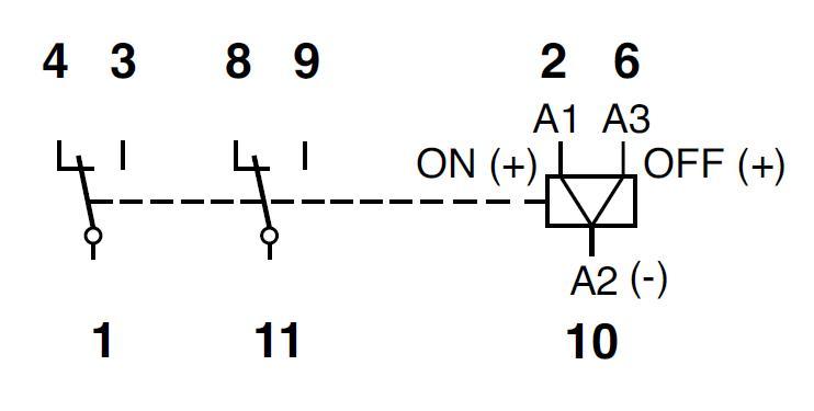 Схема подключения C3-N34/DC12V