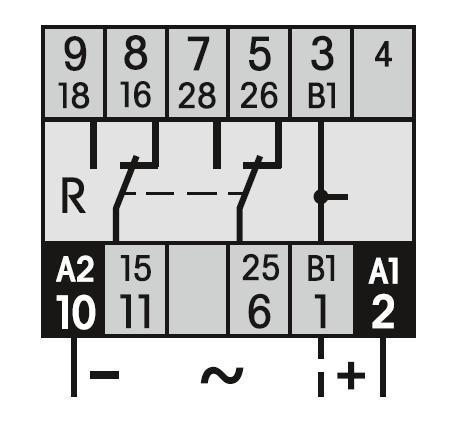 Схема подключения CS3/UC12-240V