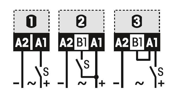 Схема подключения CT32/UC230V