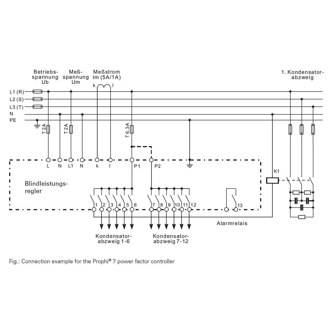 Схема подключения Prophi 7-R