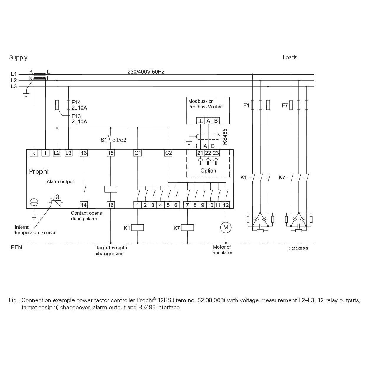 Схема подключения Prophi 6T6R