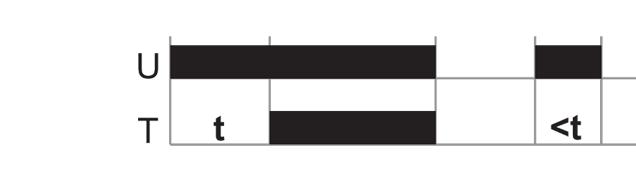 Задержка включения (двухпроводное подключение)