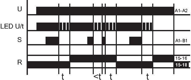 Реле времени - Режим смены нагрузки (насоса)