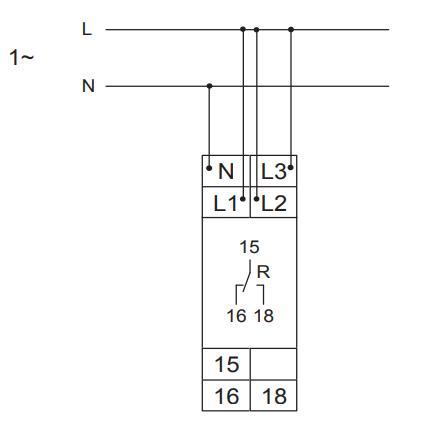 Схема подключения E1YM400VS10