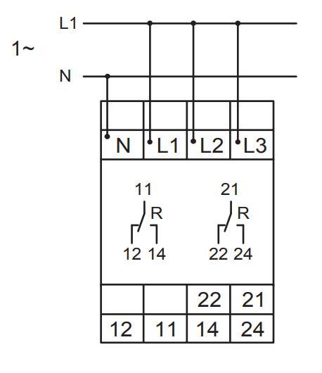Схема подключения E3YU400V02