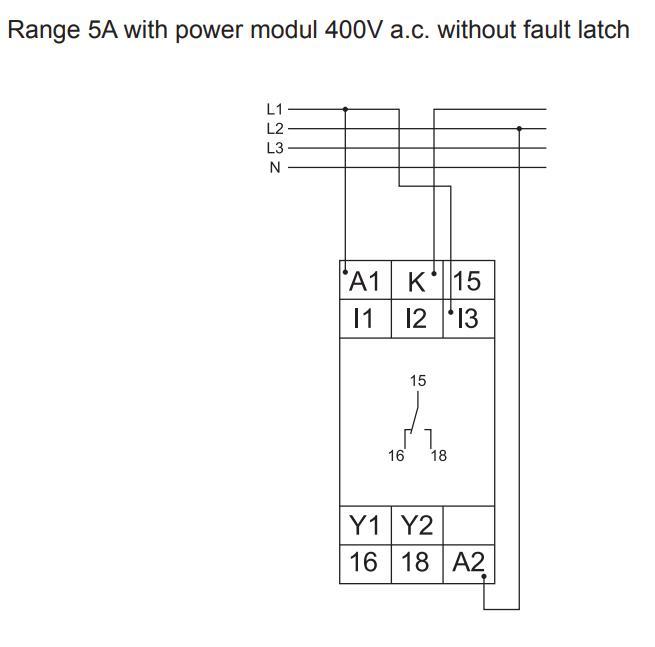 Схема подключения G2IM5AL10
