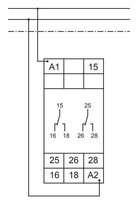 Схема подключения G2ZA20 10MIN