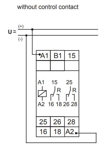 Схема подключения G2ZM20 12-240VAC/DC