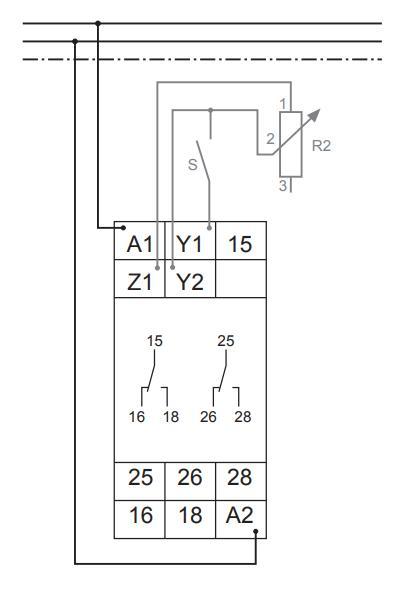 Схема подключения G2ZMF11