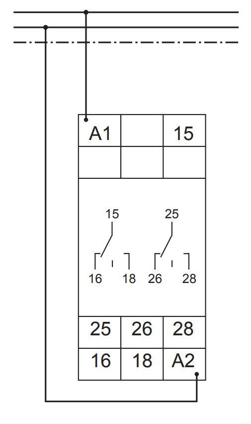 Схема подключения G2ZS20