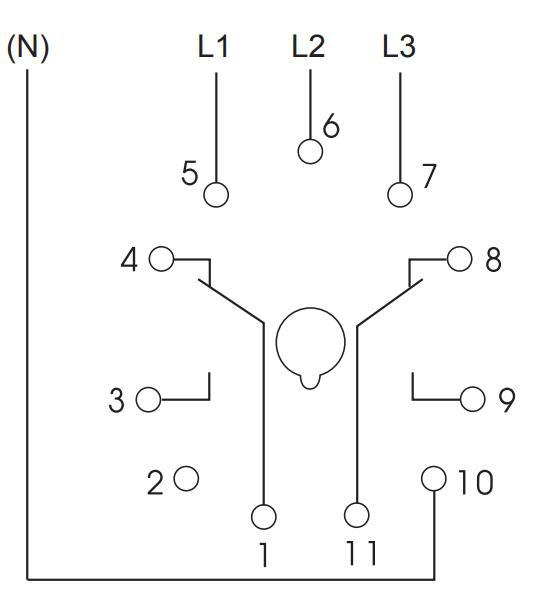 Схема подключения K3YM400VSY20