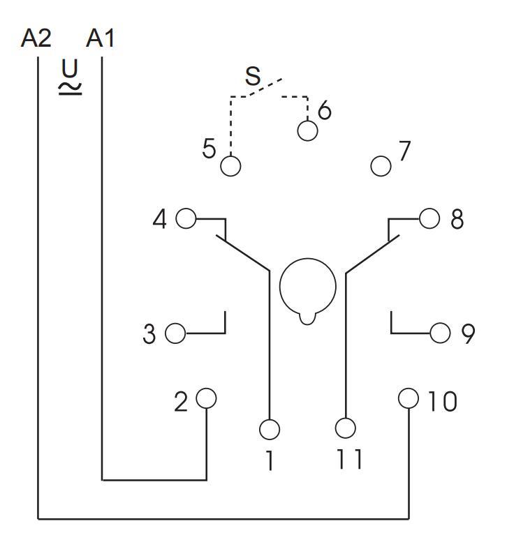 Схема подключения K3ZM20P 12-240V AC/DC
