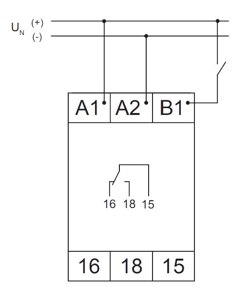Схема подключения V2ZM10 12-240V AC/DC - VE 10