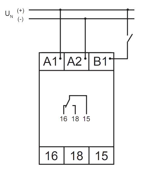 Схема подключения V2ZR10 24-240V AC/DC - VE 10