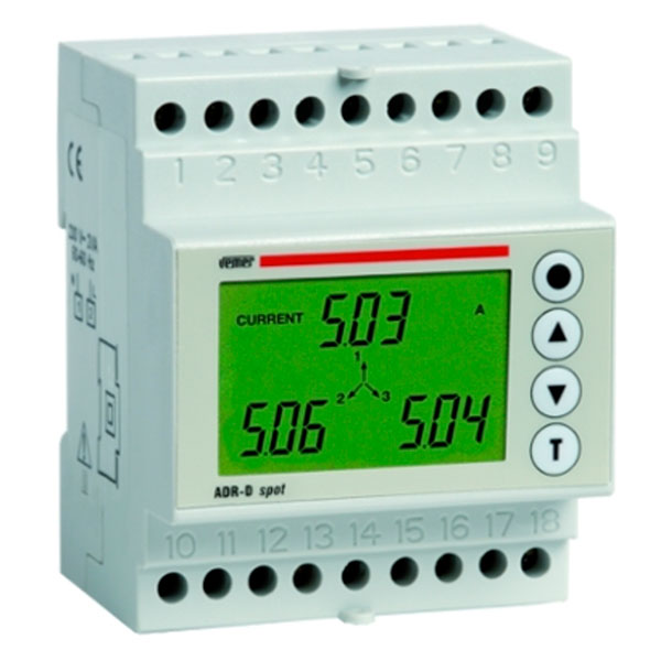Adr d spot power line meter device