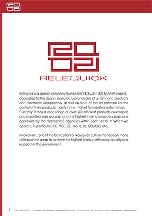 Обложка каталога RELEQUICK
