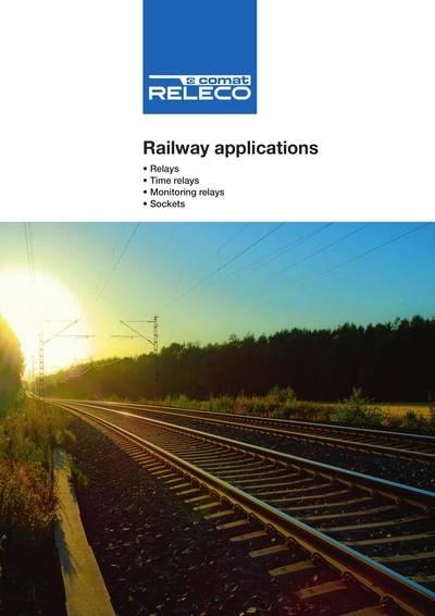 Новый каталог RELECO: реле для железных дорог