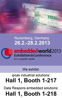 Farnell element14 на выставке Embedded World 2013