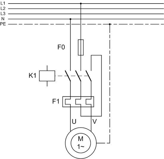 Схема подключения теплового