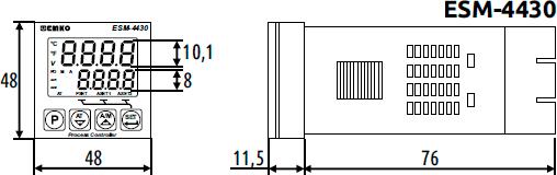 Габаритные размеры ESM-4430