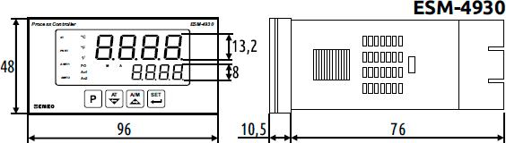 Габаритные размеры ESM-4930